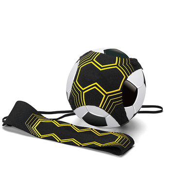 Children Soccer Training Soccer Ball Practice Belt Sports Assistance Adjustable Football Trainer Training Equipment Kick soccer ball juggle bags children auxiliary circling belt kids football training equipment kick solo soccer trainer