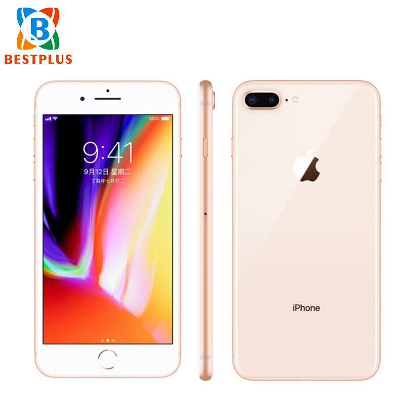 Original New Apple IPhone 8 Plus A1897 AT&T Version 4G LTE 3GB RAM 64GB ROM Mobile Phone 5.5