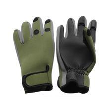 Горные Нескользящие Зимние перчатки для рыбалки ветрозащитные водонепроницаемые дышащие Теплые профессиональные перчатки для подледной рыбалки с 3 пальцами