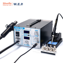 WEP 952D+ Diaphragm pump Hot Air Gun Solder Iron Rework Station