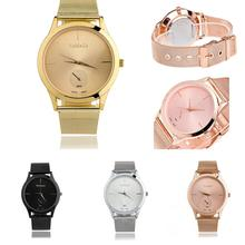 Unisex Stainless Steel Strap Dress Watches Classic Casual Quartz Watch Fashion watch casual quartz watch simple metal цена 2017