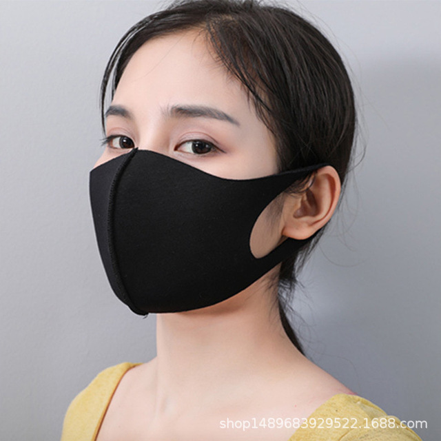 12PCS Mouth Mask Cotton Blend Anti Dust and Nose Protection Face Mouth Mask Fashion Reusable Masks for Man Woman Washable 4