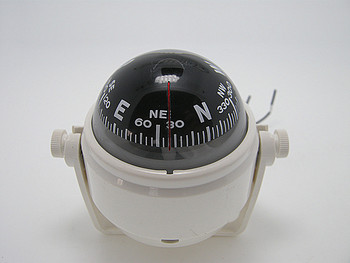 12V Boat Marine Electronic Digital Compass Boat Caravan Truck Black Car Compass With LED Light kanpas basic competiton orienteering thumb compass free ship ma 40 fs from compass factory