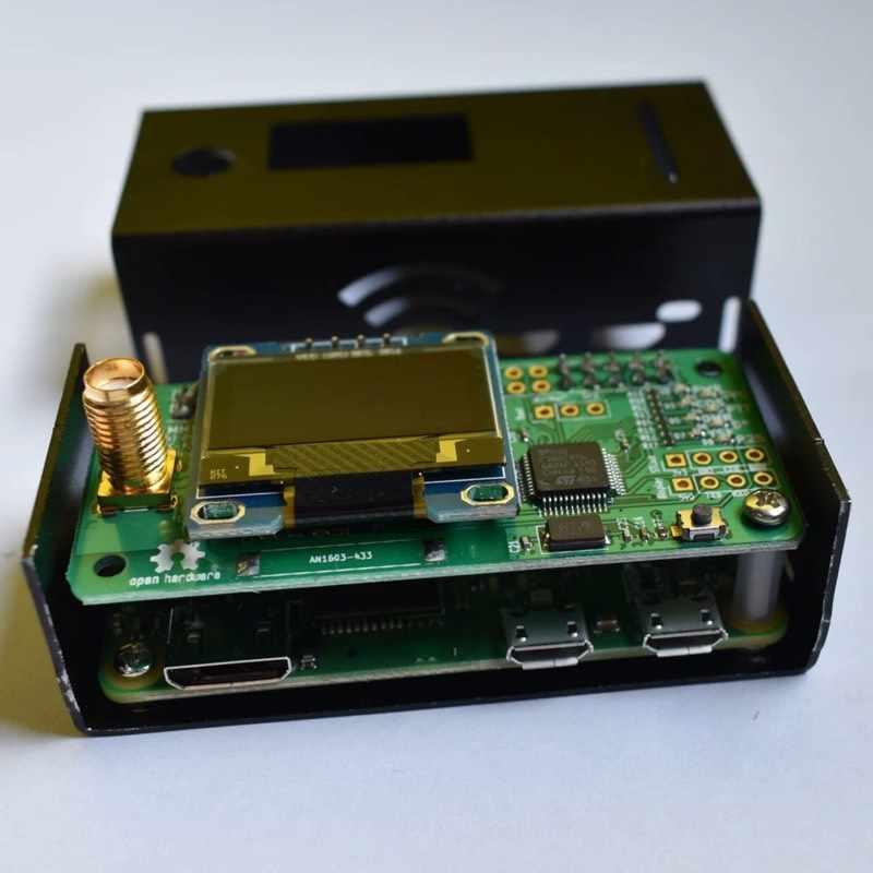Mmdvm suporte hotspot p25 dmr ysf dstar, raspberry pi-zero w + antena oled + estojo + cartão tf pronto para qso jumbosvaso