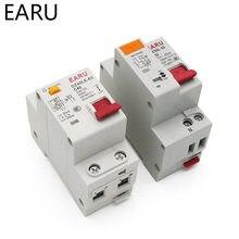 Epnl dpnl 230 v 1 p + n disjuntor de corrente residual com sobre e curto proteção de vazamento de corrente rcbo mcb