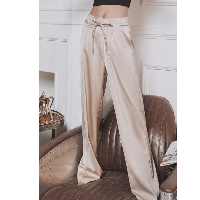 ZA Wide Leg Woman Pants Pantalon Femme Pantalones Anchos De Mujer Casual High Waist Loose Trousers Sweatpants Cargo Joggers