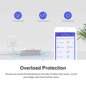 Image 2 - Itead Sonoff Pow R2 15A Wifi Smart Switch With Higher Accuracy Monitor Energy Usage Power Measuring Support Alexa Google Home