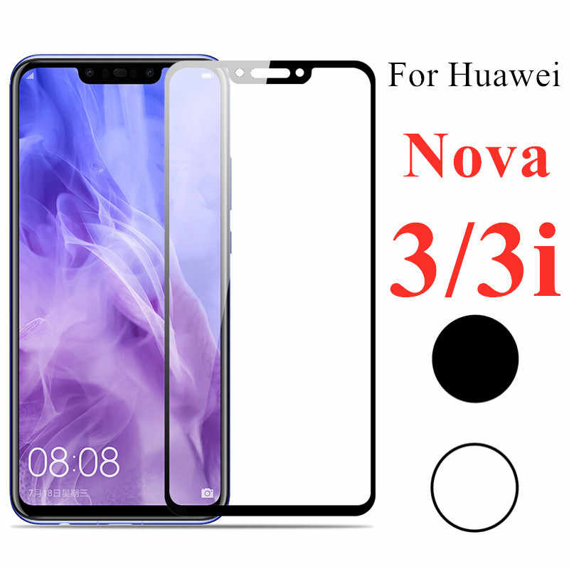 Full Cover Tempered Glass for Huawei Nova 3i Protective Glass on Huawei Nova 3 Original Safety on Huavei I3 3 I Screen Protector