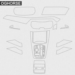 Image 4 - Para bmw x5 g05 rhd protetor de tela interior do carro da mão direita controle central navegação engrenagem exibição tpu película protetora adesivo