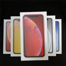 1pcs US EU UK Version Mobile phone box Retail Empty packaging for iPhone xr without Accessories With manual Sticker(China)