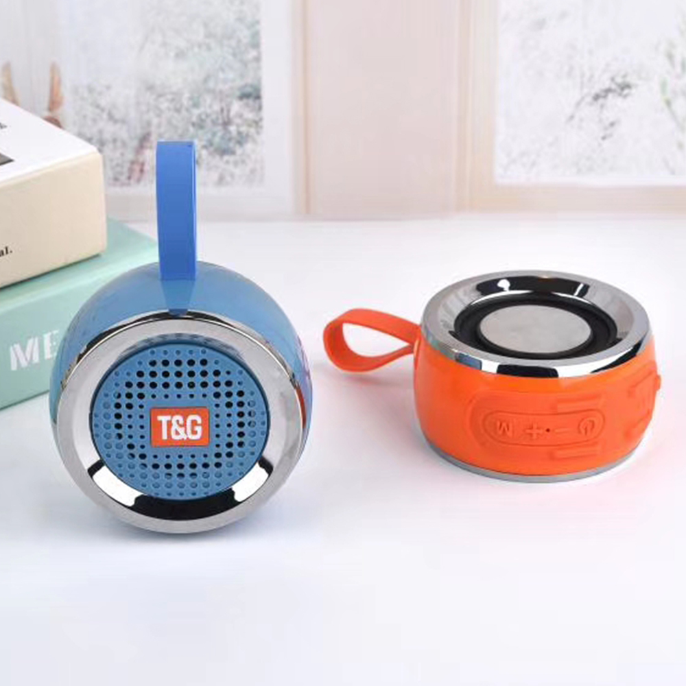 Bluetoot Speaker TG146 Mini wireless Column Portable Outdoor Waterproof Stereo Bass Music Loudspeaker Sound SD TF Card in Portable Speakers from Consumer Electronics