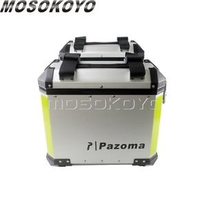 Image 3 - Sidecases universales de 36L para motocicleta, caja con estante y caja superior de almacenamiento de carga de 45L para BMW, Yamaha, Suzuki, Honda, NC700X, NC750X