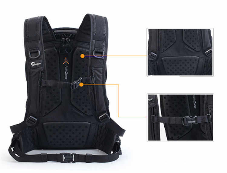 Специальная цена Подлинная Lowepro ProTactic 450 aw сумка для камеры на ремне SLR Камера сумка рюкзак для ноутбука с любой погодной крышкой
