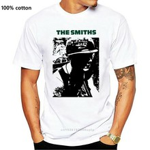 T-shirt Homme Blanc - The Smiths Meat Is Murder - Soldat Album Musique Londres New T-shirt Men Fashion T Shirts