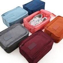 Дорожная сумка для хранения переносная обувь органайзер водонепроницаемая
