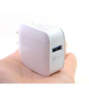 Image 5 - Quick Charge 3,0 EU Stecker Handy Ladegerät 15W Schnelle Wand USB Ladegerät Adapter für Samsung Xiaomi USB Telefon ladegeräte