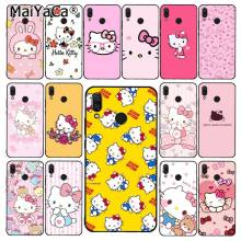 Maiyaca Hello Kitty Phone Case untuk Xiaomi Redmi8 4X 6A S2 Pergi Redmi 5Plus Note4 5 7 Note8Pro(China)