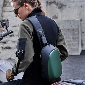 Image 2 - Сумка Рюкзак Youpin TAJEZZO ARCH из искусственной кожи, водонепроницаемая цветная сумка для отдыха и спорта, нагрудная сумка для мужчин и женщин, дорожная Сумка для кемпинга