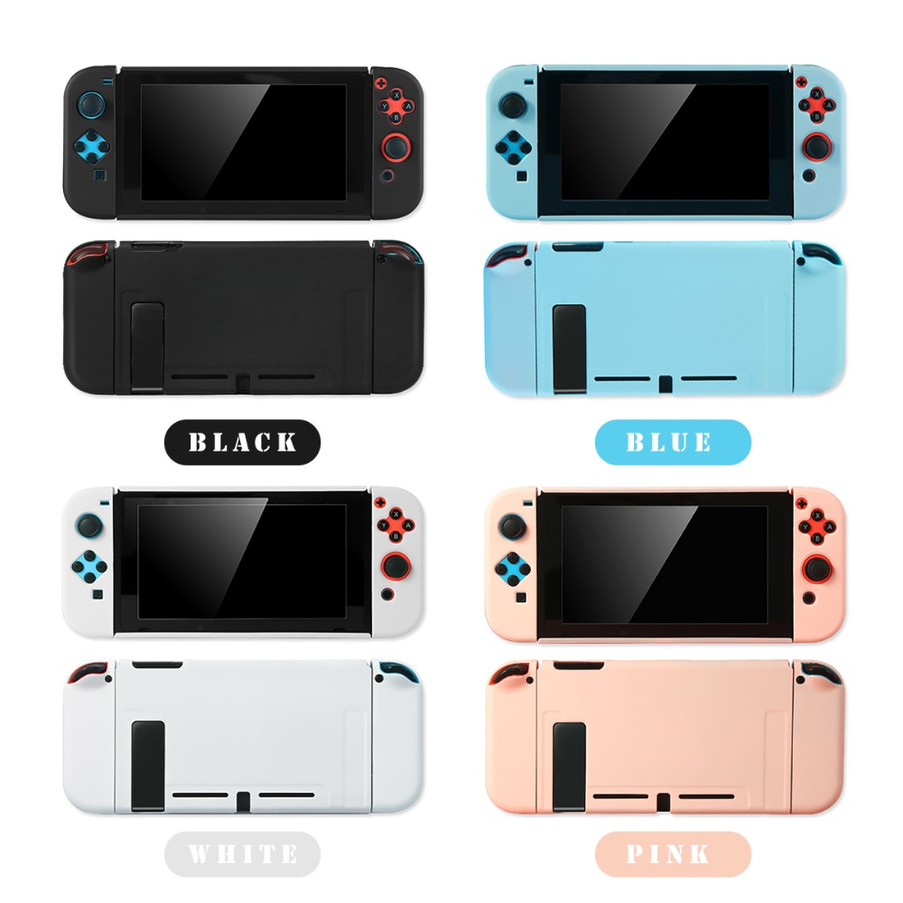 Protective Case Joy Con Controller Shell Hard Housing Full Cover Shell For Nintend Switch (18)