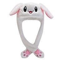 Kaninchen Ohr Hut Niedlich Kappen Plüsch Stickerei Kaninchen Ohr Hut Geschenk für Kinder Mädchen Wrap Warm Hut Kappe Damen sombrero mujer 2021 Neue