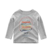 Kids Boys Long Sleeve T Shirt Dinosaur Printed