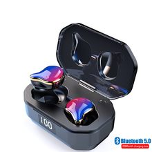 Bluetooth 5.0 G01 Blutooth Earphone Stereo Motion HBQ  Wireless In-Ear Gaming Headset Phone Mobile Power TWS