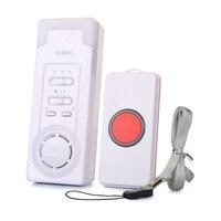Alerta do Sistema de Alarme De Emergência Sem Fio Botão de Chamada Paciente DiDiDa