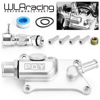 WLR High Quality Auto Upper Coolant Housing Straight With Filler Neck And Thermost Radiator Cap Cover for K24/K20Z3 WLR-IMK09S