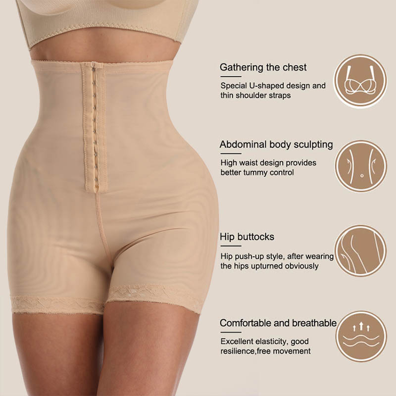 Image 3 - High Waist Control Panties for Belly Recovery Shaper Butt Lifter Slimming Underwear Postpartum Hip Enhancer Shapewear Plus Size-in Control Panties from Underwear & Sleepwears
