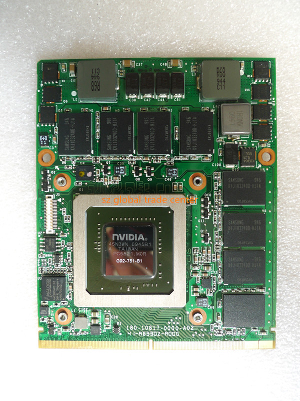 Kai-Full GTX 260M GTX260M 1GB WDXVH G92-751-B1 P/N: 0WDXVH 96RJ4 VGA Video Card for Dell <font><b>Alienware</b></font> M15x <font><b>M17x</b></font> <font><b>R1</b></font> CARD image