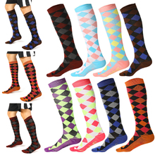 Antifatigue Compression Stockings Medical Varicose Veins Leg Relief Pain Knee High Socks Leg Support Stretch Compression Socks level 1 a pair medical socks compression stockings varicose veins 15 22mmhg pressure mid calf length for both man and wowan