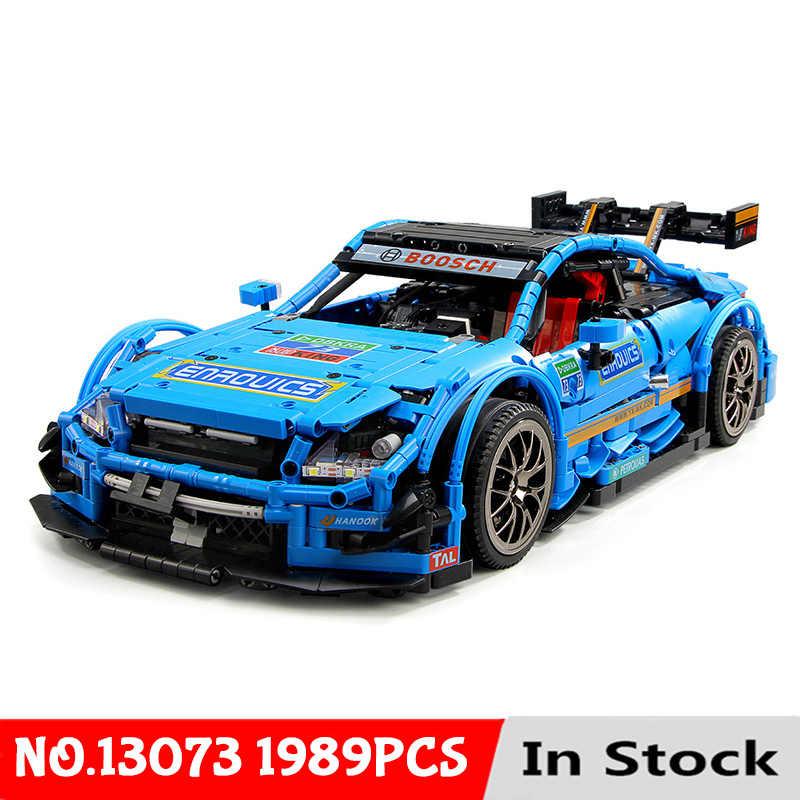Yeshin Technic samochód zgodne z nowym MOC-6687 AMG RC zestaw samochodowy klocki klocki App sterowania RC samochody zabawki dla dzieci