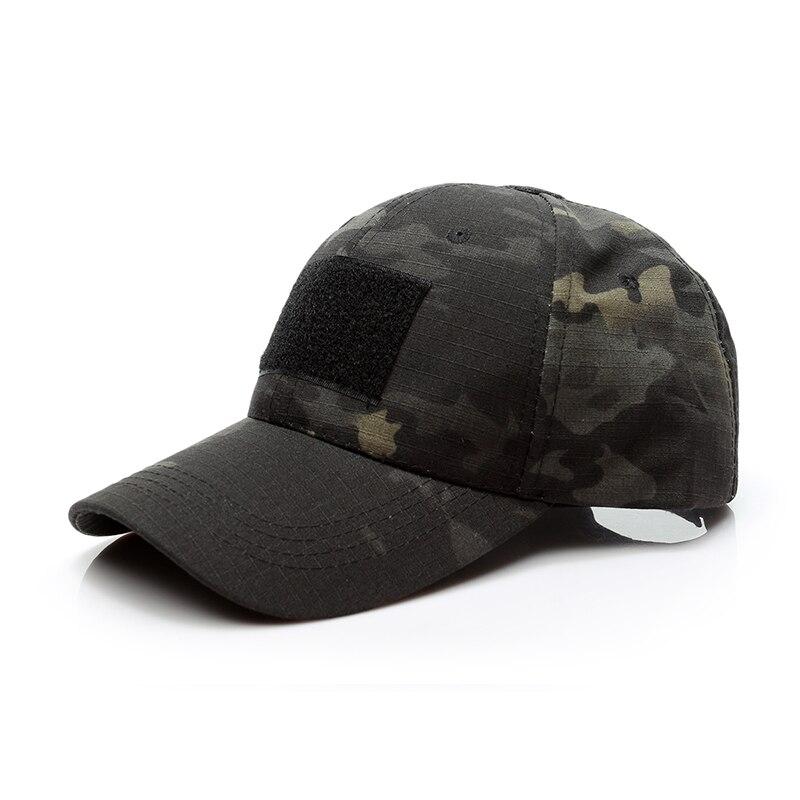Taktische Armee Kappe Outdoor Hysterese Streifen Military Cap Camouflage Einfachheit Camo Jagd Sport Hut für Männer Erwachsene