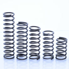 2 pces por atacado personalizado mola de compressão de bobina de metal, 2mm diâmetro de fio * 24mm para fora diâmetro * (60-200) mm comprimento