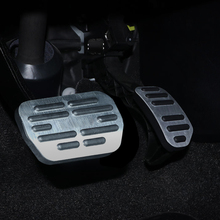 For  TOYOTA 2014 year Levin AT car pedal gas foot rest stainless modified pad non slip performance aluminium fuel