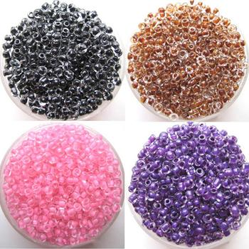 500Pcs 2mm Round Glass Seed Beads for DIY Bracelet Necklace Jewelry Making Craft Beads for DIY Bracelet Necklace Jewelry Making image