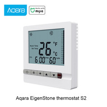 2020 Original Aqara S2 EigenStone klimaanlage thermostat S2 (luftkanal maschine) smart Home Arbeit Für Mijia Mihome APP