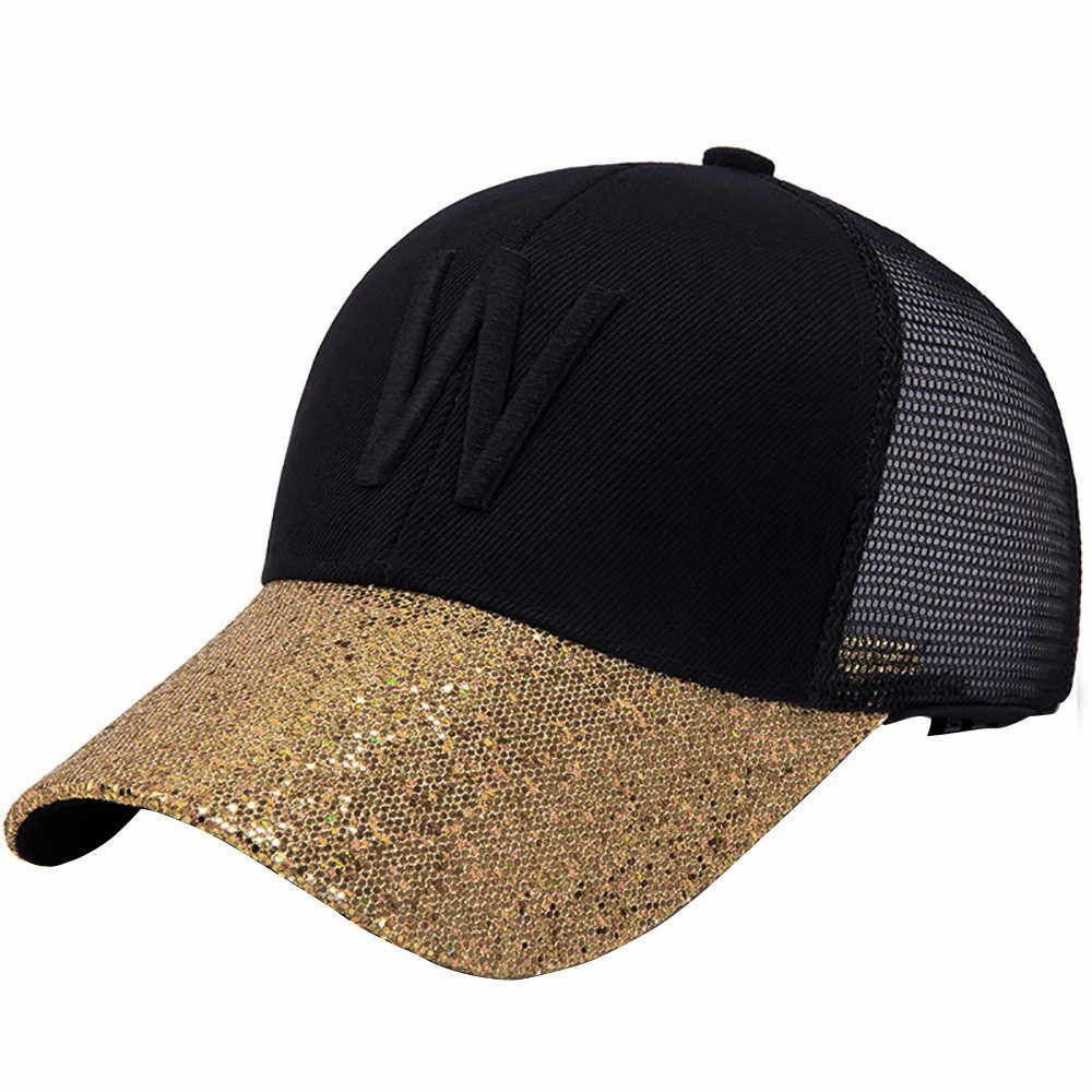 Mode solide 2019 nouvelle casquette marque hommes casquette de Baseball femmes lettre impression respirant réglable Hip Hop Streetwear casquettes de Baseball