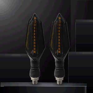 Image 5 - Универсальные поворотные сигналы для мотоциклов, светодиодные лампы, осветительная лампа для KAWASAKI ZX 6 ZX6R ZX1100 ZRX1100 ZRX1200 Z250 ABS Z250SL Z750S