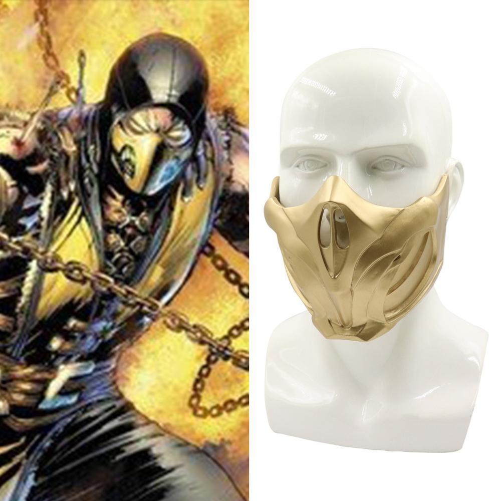 original scorpion mortal kombat mask