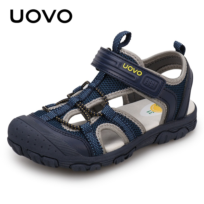 Kids Fashion Sandals 2020 Sock Style Color Matching Design Soft Durable Rubber Sole Comfortable Boys Sandals With #25-35