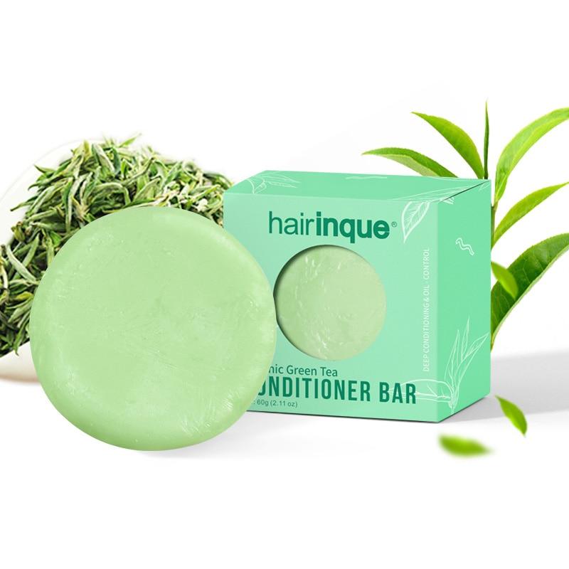 Green Tea Fragrance Hair Handmade Moisturizing Nourishing Hair Care Soap