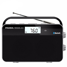 Портативное двухдиапазонное мини радио Bluetooth, с телескопической антенной, FM/MW, стерео радио, беспроводной сигнал, цифровой приемник