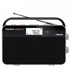 Image 1 - Mini Radio Bluetooth Radio Portable deux bandes avec antenne télescopique Radio stéréo FM/MW Signal sans fil Station récepteur numérique