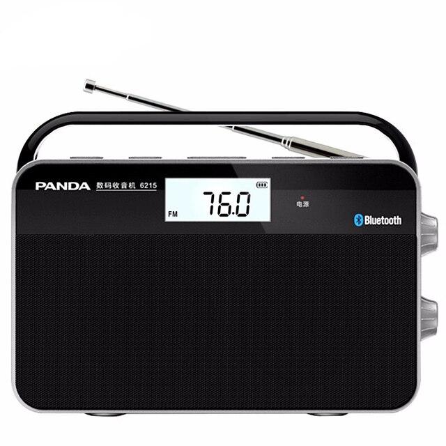 Mini Radio Bluetooth Radio Portable deux bandes avec antenne télescopique Radio stéréo FM/MW Signal sans fil Station récepteur numérique