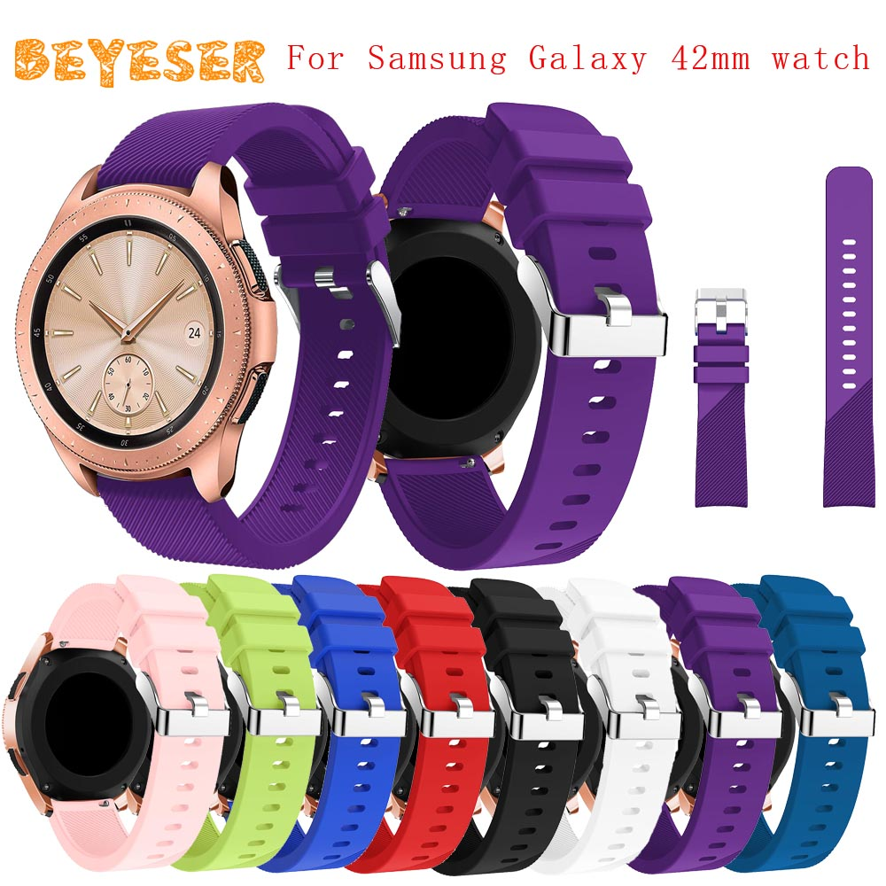 New sports silicone watch band for Samsung Gear Sport wristband twill quality non-slip adjustable replacement watch strap