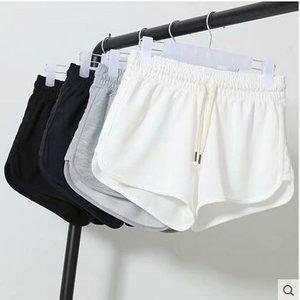 2020 Women's Summer Large Size Short Pants High Waist Hot Loose Wide Leg Casual Shorts Women Summer Wide-leg Shorts