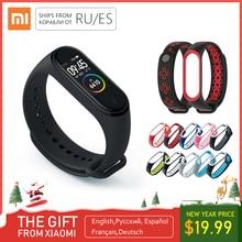 Xiaomi mi Band 4 смарт-браслет для мужчин mi band 4 браслет 3 цвета экран Pulseira Correa Smartband