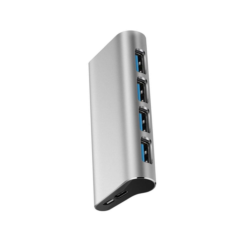 CZH-T294 4 IN 1 USB 3.0 Divider Docking Station 4 Ports 3.0 Hub Adapter Dock High Definition Hub