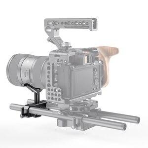 Image 5 - SmallRig para cámara Dslr lente de soporte en forma de Y 15mm LWS soporte de lente Universal con abrazadera de varilla de 15mm aparejo de soporte 2680